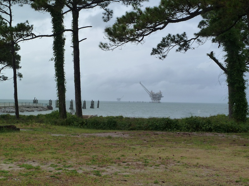 Oil Rig off FL / AL coast