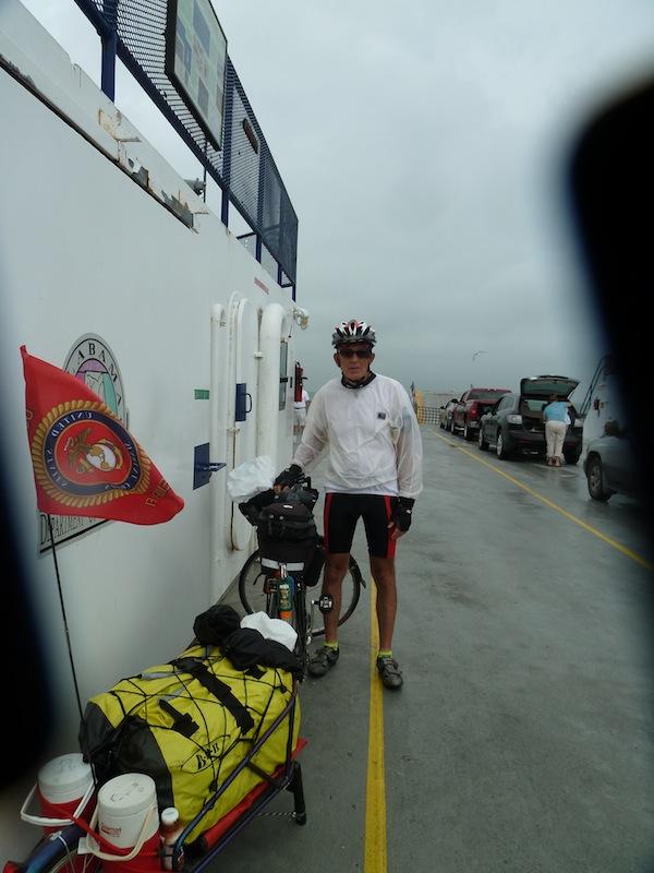Chuck on Ferry
